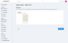 WordPress Users Screenshot 2