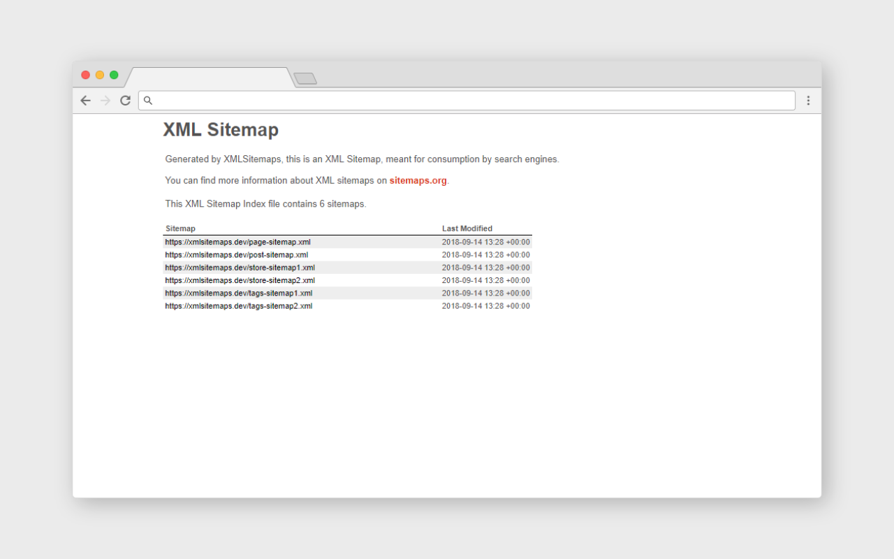 xml sitemaps a statamic addon