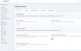 Meerkat Comments for Statamic 3 (Beta 3) Screenshot 2