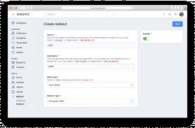 Redirect Screenshot 1