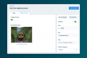 Simple Commerce - Digital Products Screenshot 1