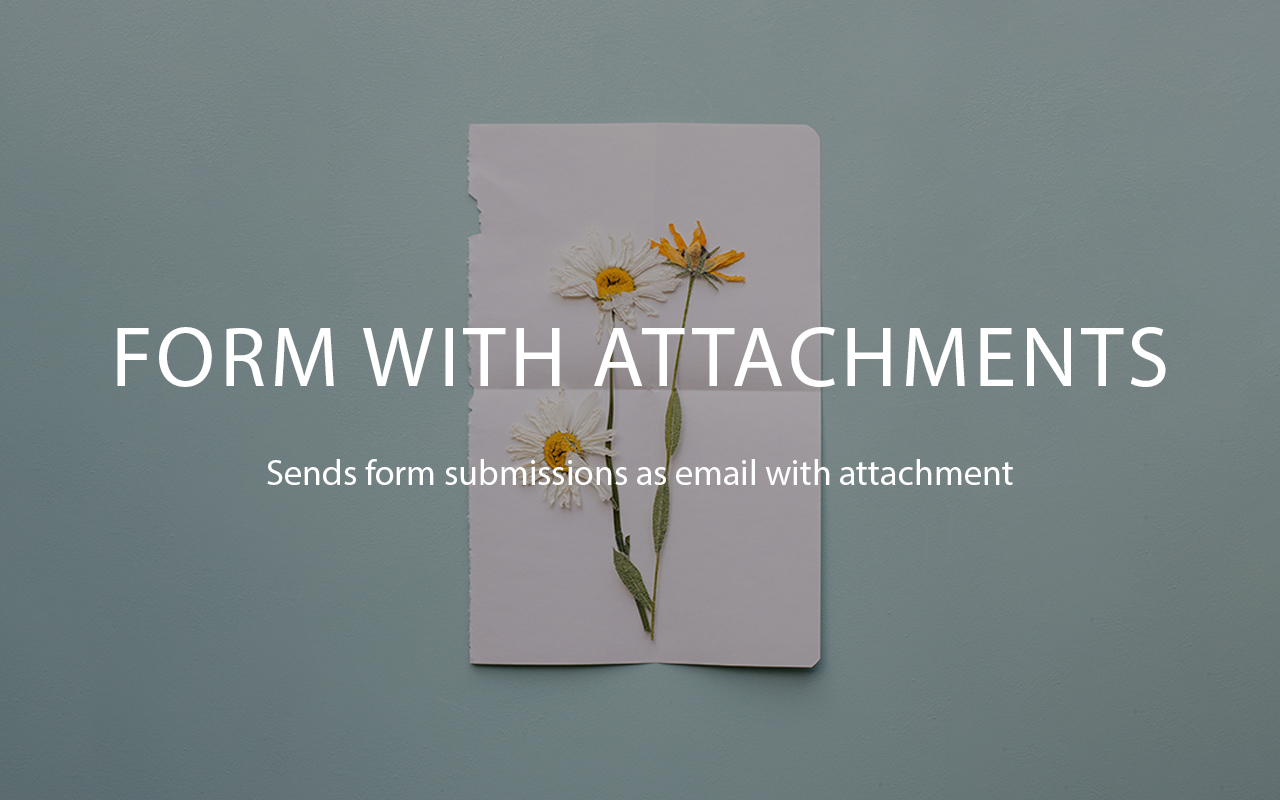 Form With Attachments