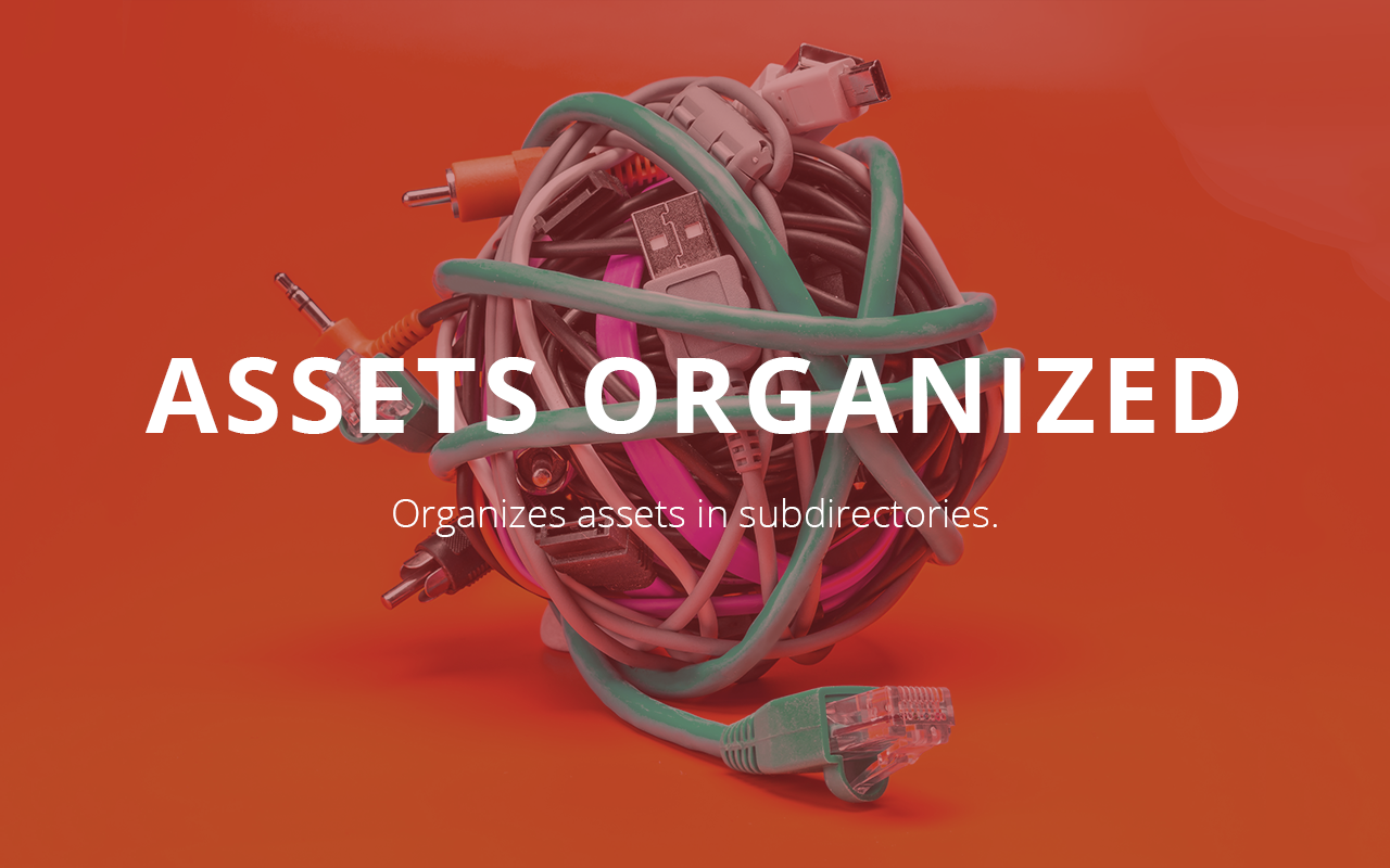 Assets Organized