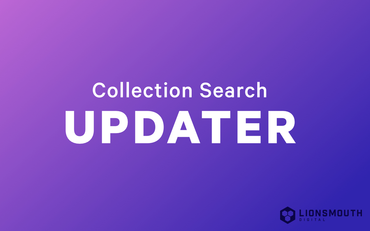 Collection Search Updater